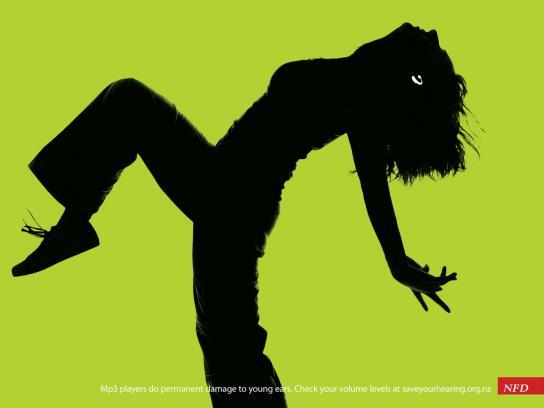 NFD Print Ad -  Green