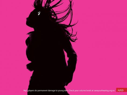 NFD Print Ad -  Magenta