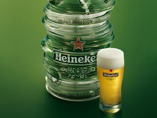 Heineken Print Ad -  CDs