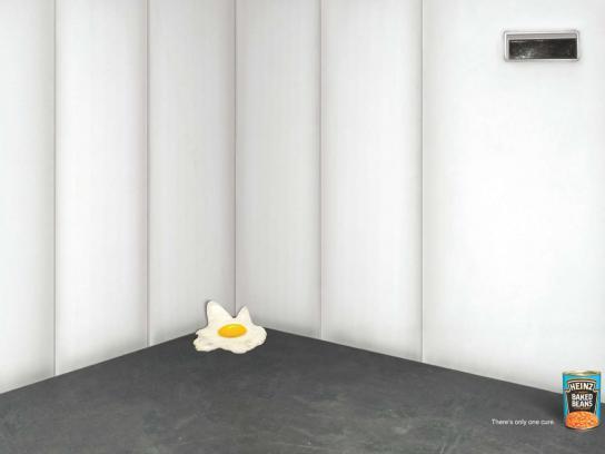 Heinz Print Ad -  Egg