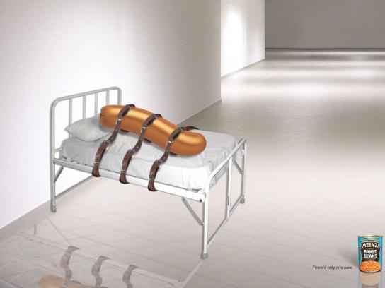 Heinz Print Ad -  Sausage