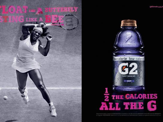 Gatorade Print Ad -  Tennis