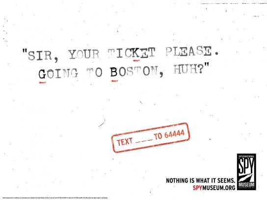 International Spy Museum Print Ad -  Hidden Messages, KGB