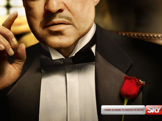 SKY Print Ad -  The Godfather