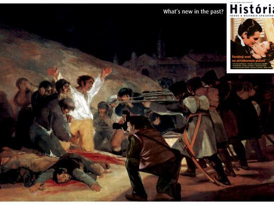 Magazine Historia Print Ad -  Goya