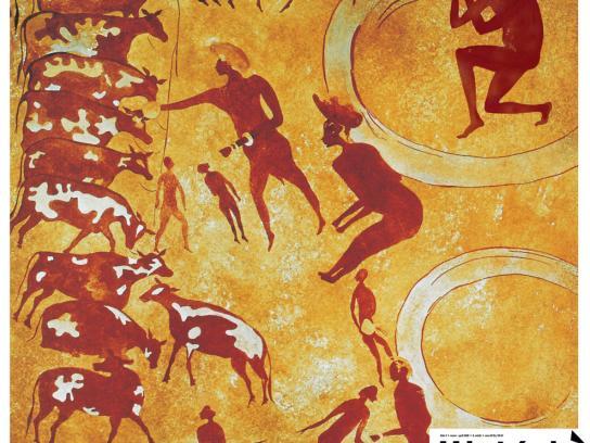Magazine Historia Print Ad -  Prehistory