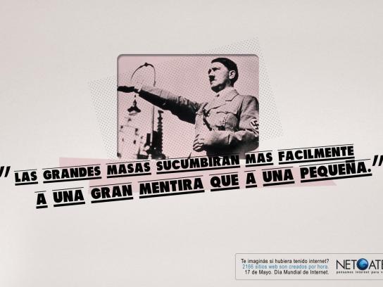 Netgate Print Ad -  Hitler