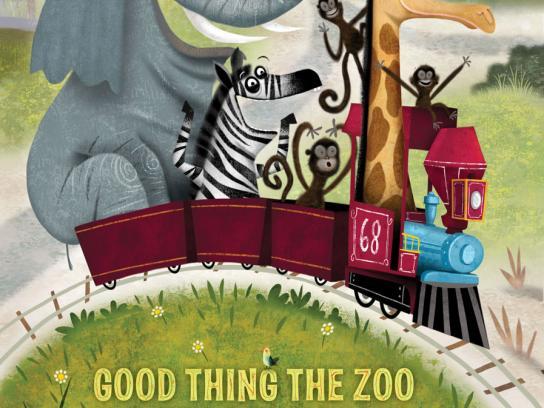 Hogle Zoo Print Ad -  Fear