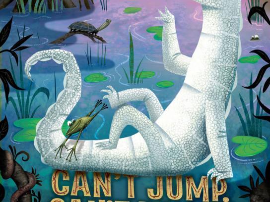 Hogle Zoo Print Ad -  Jump
