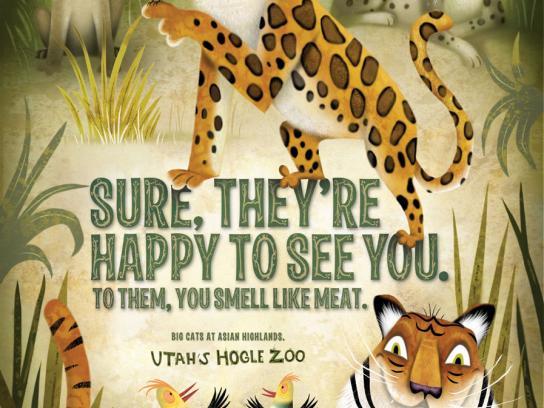 Hogle Zoo Print Ad -  Meat
