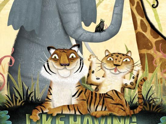 Hogle Zoo Print Ad -  Poop