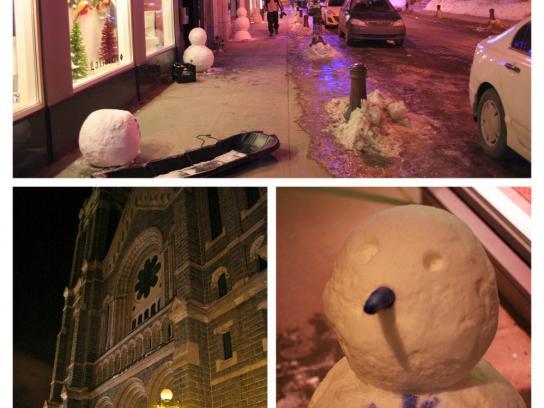 Hôtel de Glace Ambient Ad -  Frozen messengers