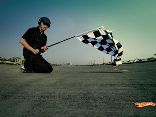 Flag off