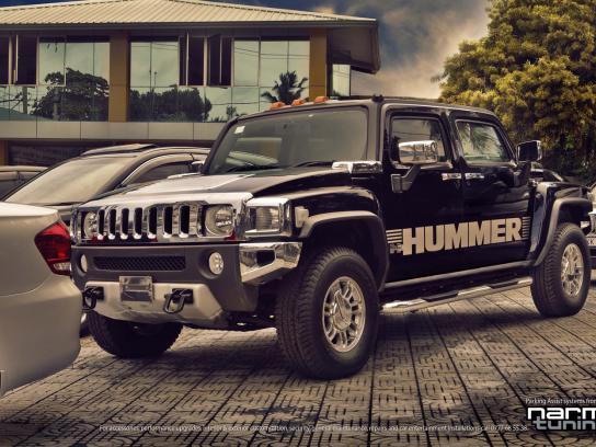 Narmi Tuning Print Ad -  Hummer