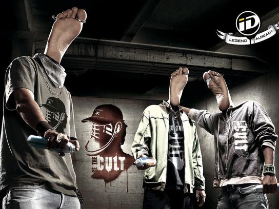 iD Print Ad -  Graffiti