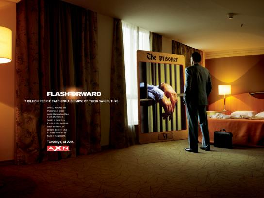 FlashForward Print Ad -  The Prisoner