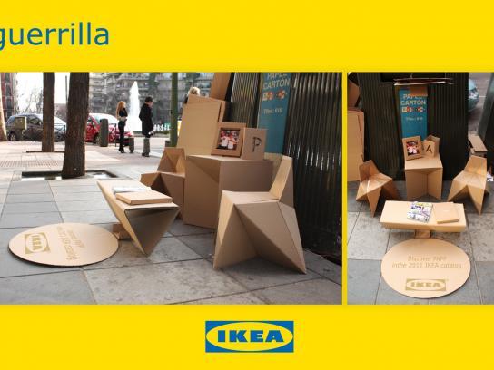 IKEA Ambient Ad -  Guerilla