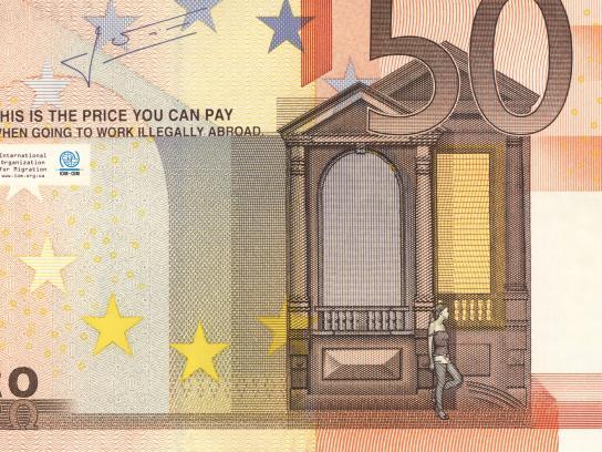International Organization for Migration Print Ad -  The price, 2