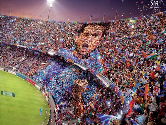 Indian Premier League Print Ad -  Sachin