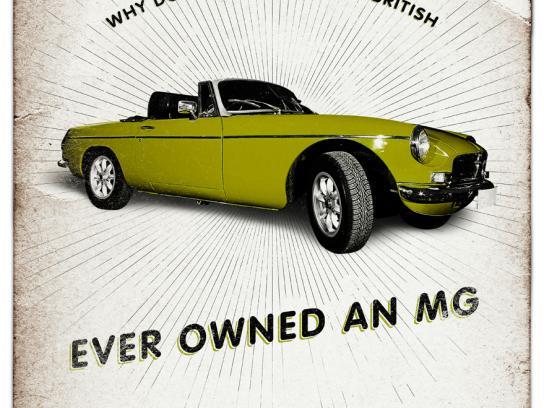 British Auto Service Print Ad -  Irish