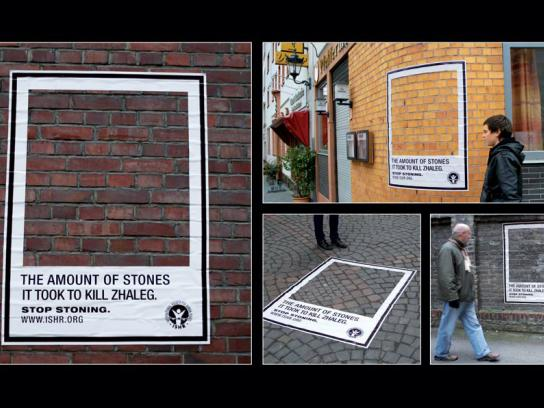International Society for Human Rights Ambient Ad -  Zhaleg