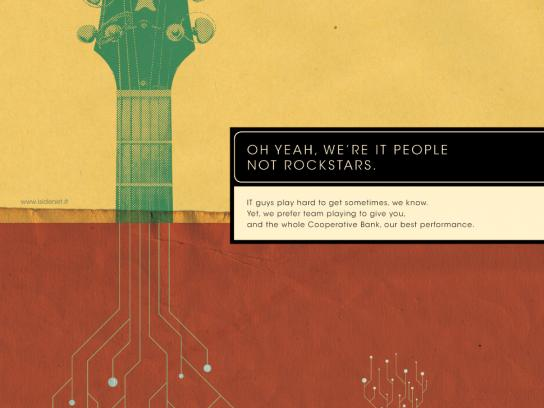 Iside Print Ad -  Guitar