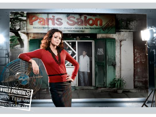 Indian Terrain Print Ad -  World premiere, 2
