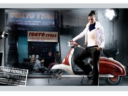 Indian Terrain Print Ad -  World premiere, 3