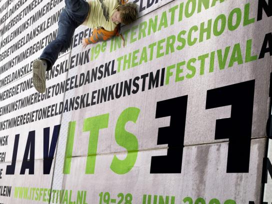 International Theater School Festival Print Ad -  Wall, 1