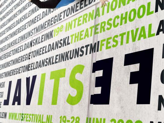 International Theater School Festival Print Ad -  Wall, 3