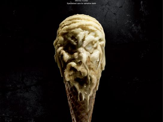 Westcoast International Dental Clinic Print Ad -  Ice Cream