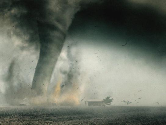 Ice Break Print Ad -  Tornado
