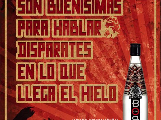 Boro Vodka Print Ad -  Ideologies