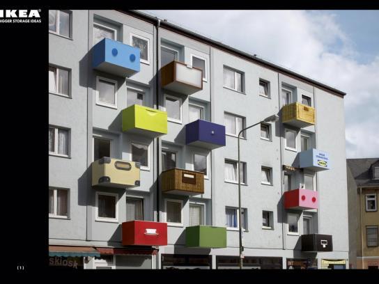 IKEA Ambient Ad -  Balcony