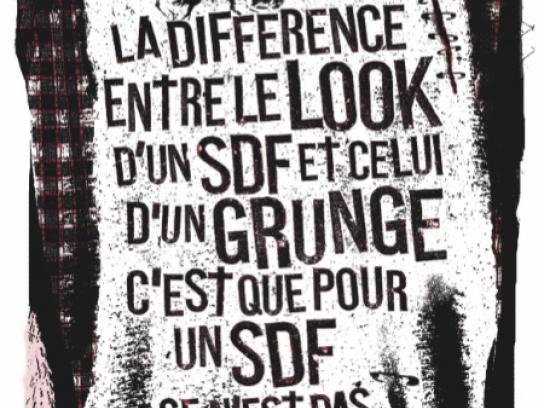 Fondation Abbé Pierre Print Ad -  Rock on, 4