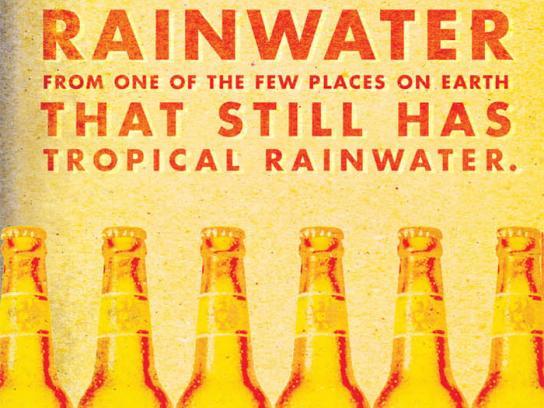 Imperial Beer Print Ad -  Rainwater