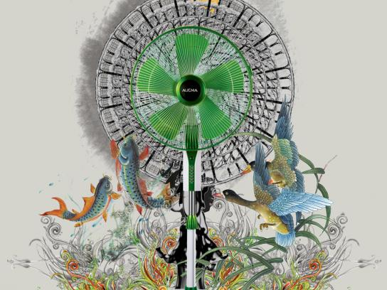 Aucam Print Ad -  Wind of China, Ink
