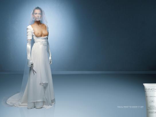 Innoxa Print Ad -  Bride
