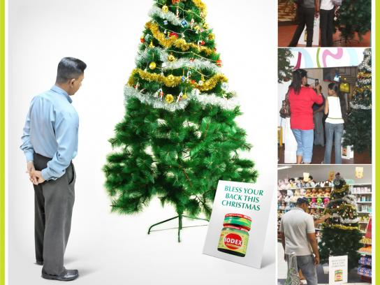 Iodex Ambient Ad -  Christmas tree