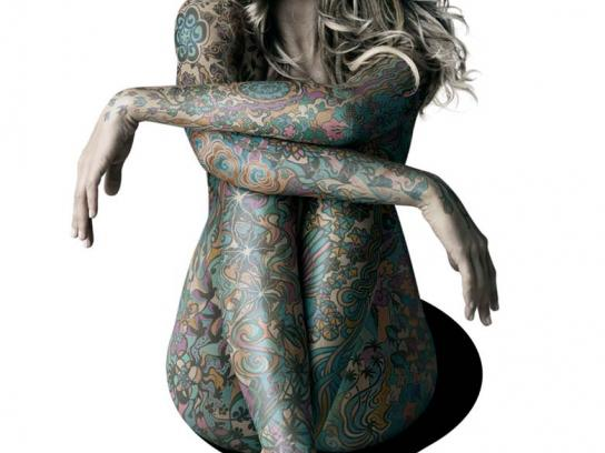 Ipanema Print Ad -  Tattoo, 1