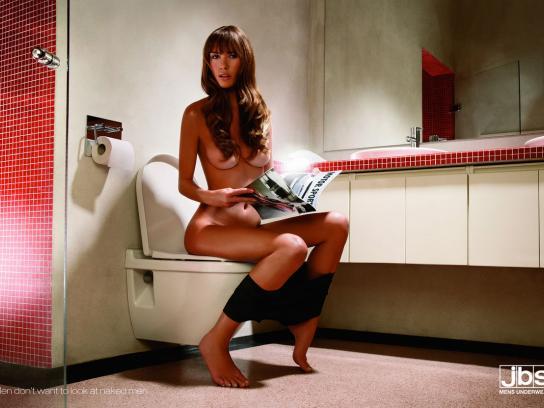jbs Print Ad -  Toilet