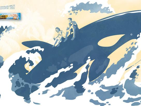 Jacobs Print Ad -  Whale