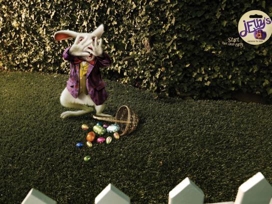 Jelly's Print Ad -  Rabbit