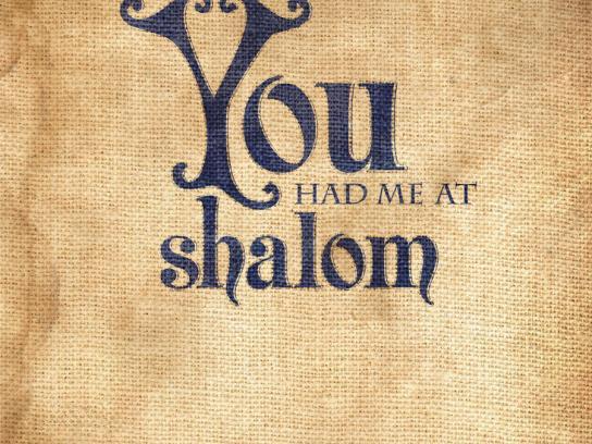 Jewtopia Print Ad -  Shalom