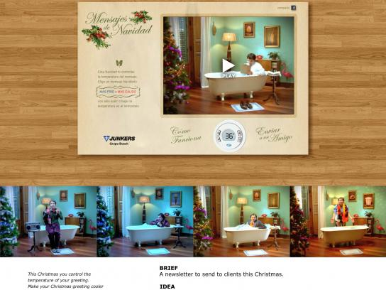Junkers Digital Ad -  Christmas card