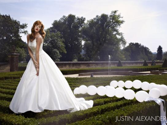 Justin Alexander Print Ad -  Garden, 3