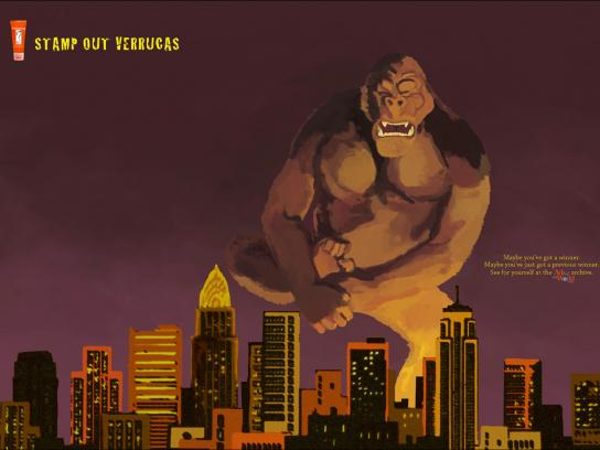 Ads of the World Print Ad -  King Kong