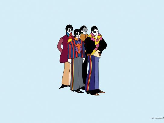 Beatles-Kiss
