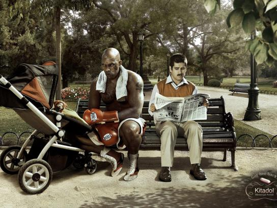 Kitadol Print Ad -  Boxer