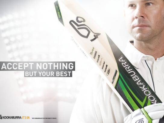 Kookaburra Print Ad -  Best